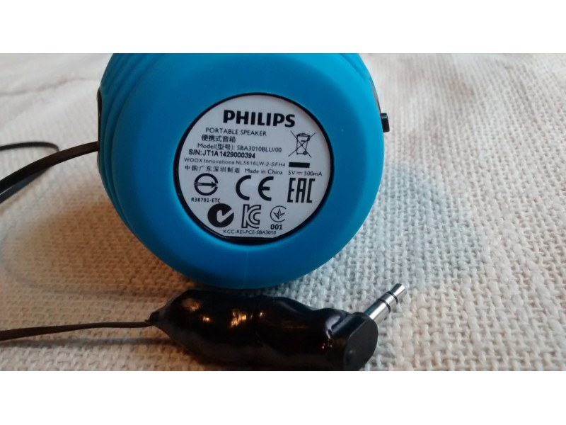 Zvucnik mini vufer PHILIPS