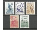 ab Argentina 1960. Ptice,kompletna cista serija