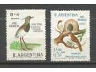 ab Argentina 1966. Ptice,kompletna cista serija