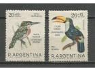 ab Argentina 1967. Ptice,kompletna cista serija