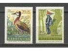 ab Argentina 1969. Ptice,kompletna cista serija