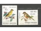 ab Argentina 1972. Ptice,kompletna cista serija