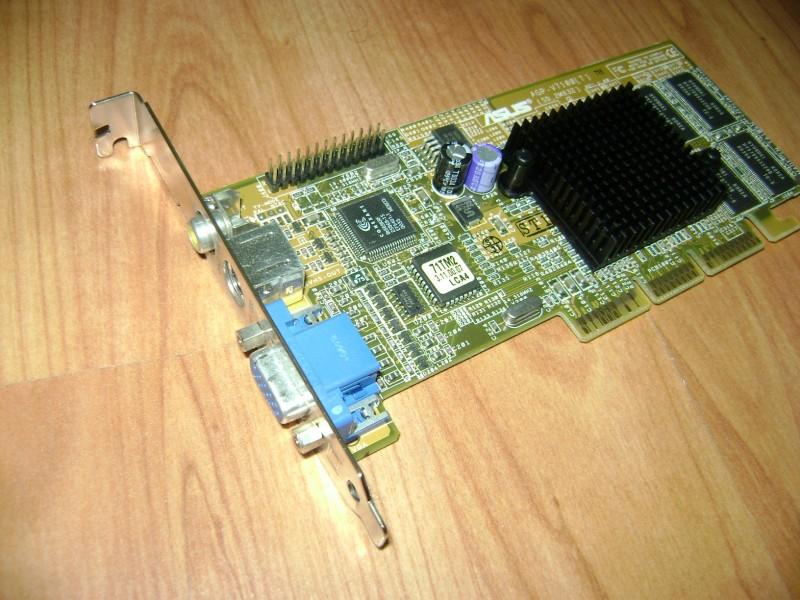 agp grafika 32mb 128bita V7100 ASUS