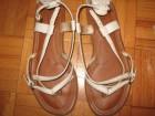 aldo, kožne , bele sandale vel 38