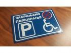 arking table za osobe sa invaliditetom
