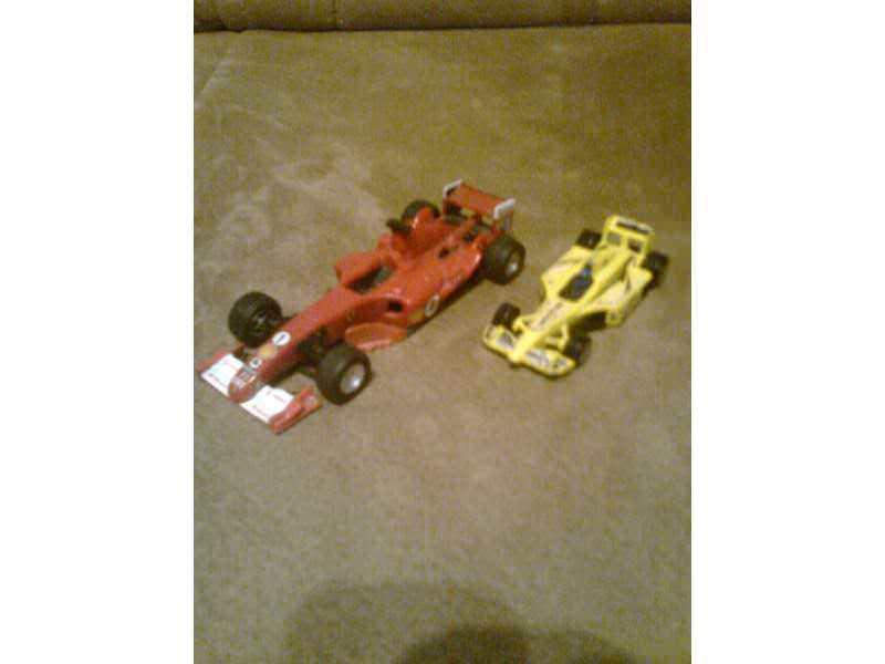 autić - 2 komada formula 1 vozila