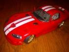 bBurago 1997 Dodge Viper GTS Coupe 8.0l V10 Red 1/18
