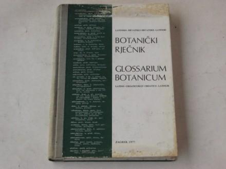 bl - BOTANICKI RJECNIK ; latinski-hrvatski-latinski