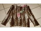 bluza sa leopard printom i  sljokicama S/M