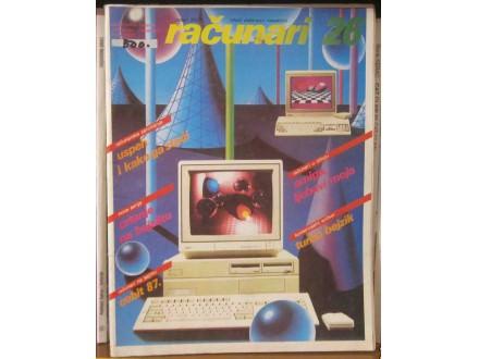 časopis RAČUNARI broj 26 - 1987 godina