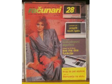 časopis RAČUNARI broj 28 - 1987 godina
