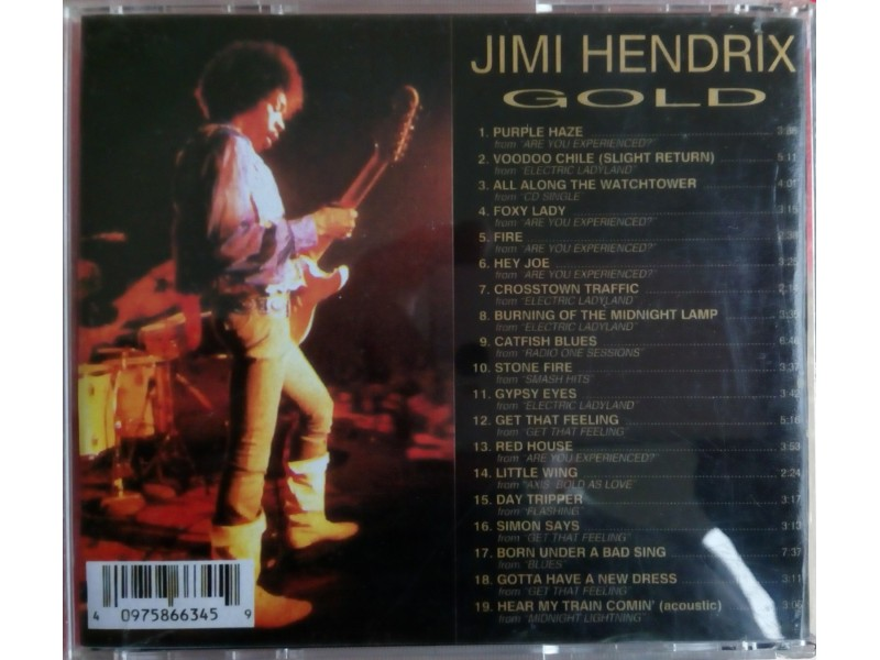 cd Jimi Hendrix..Gold