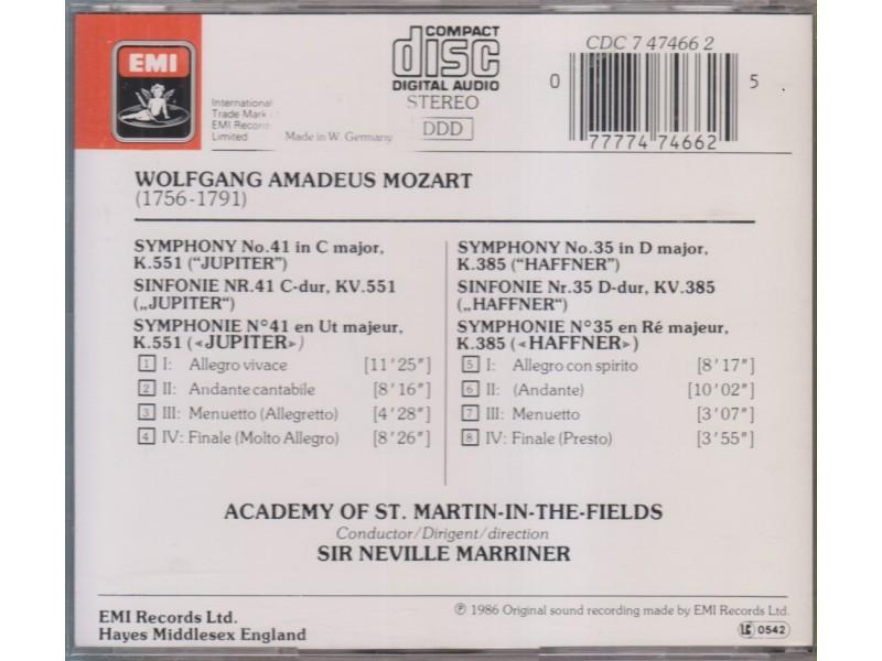 cd / MOZART Symphonies No  41 `Jupiter` - Kupindo com (51944541)