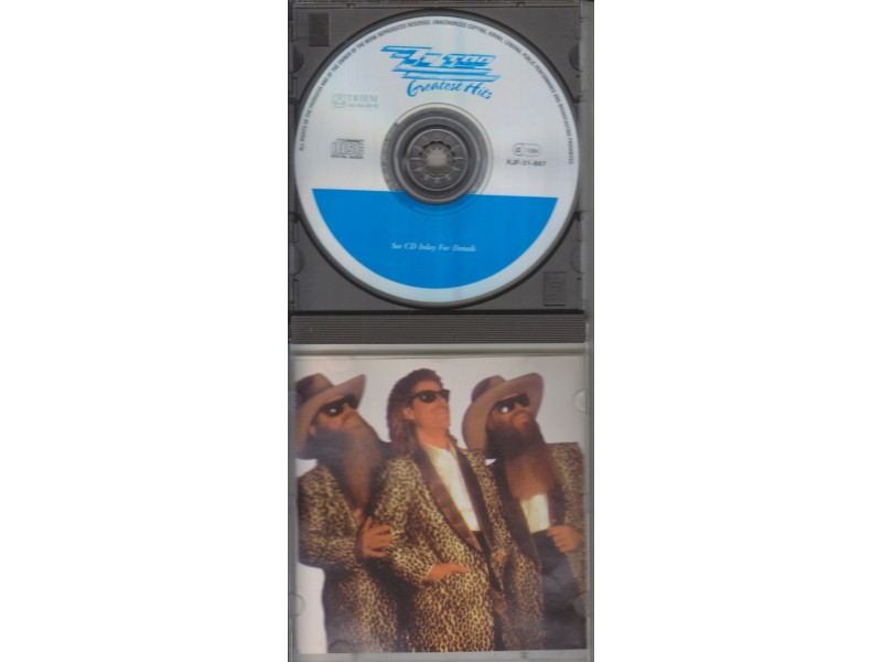 cd / ZZ TOP Greatest hits
