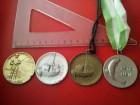 cetri vece ribolovacke medalje PRAVE MEDALJE