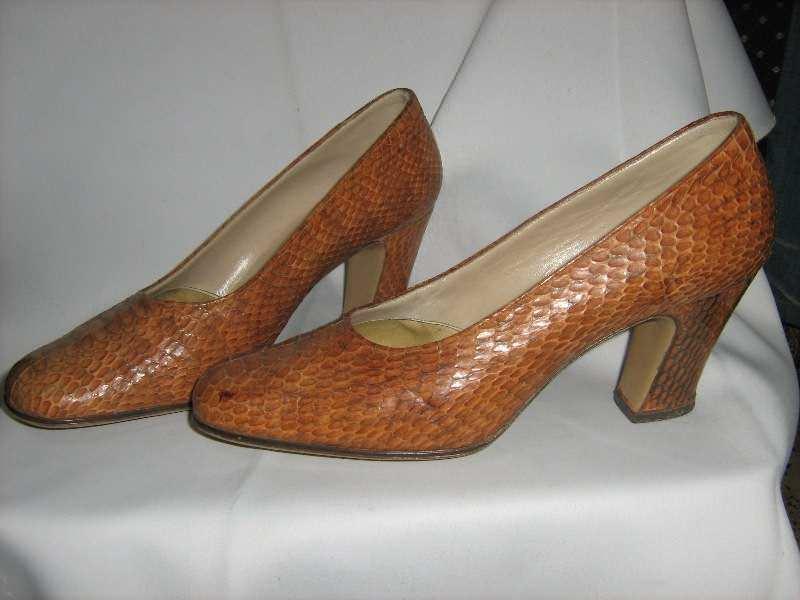 cipele ZMIJSKA koza -37 -kao nove