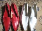 cipele kozne GML-crvene -37-nove