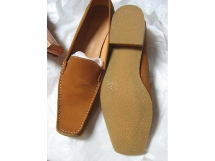 cipele  kozne- mokasine 37/38 -nove FABI