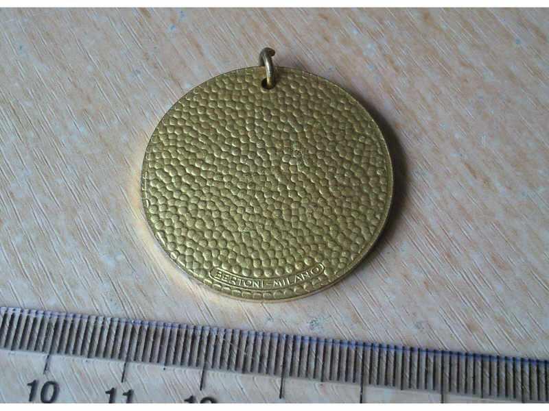 citroenova medalja iz 1973 povodom svetske premijere