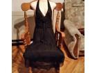 crna elegantna haljina ZARA,vel S,kao NOVA
