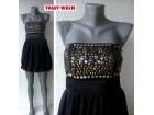 crna top tunika ili mini haljina br XS TALLY WEIJL