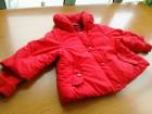 crvena zimska topla pelerina za 9-12meseci,lepa