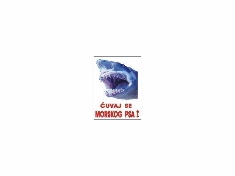 čuvaj se morskog psa tabla