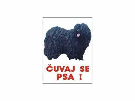 čuvaj se psa pulim mađarski tabla