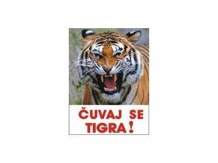 čuvaj se tigra tabla