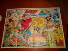 dandy giant souvenir poster  50 years  1987g
