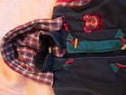 dečija šarena zimska jaknica