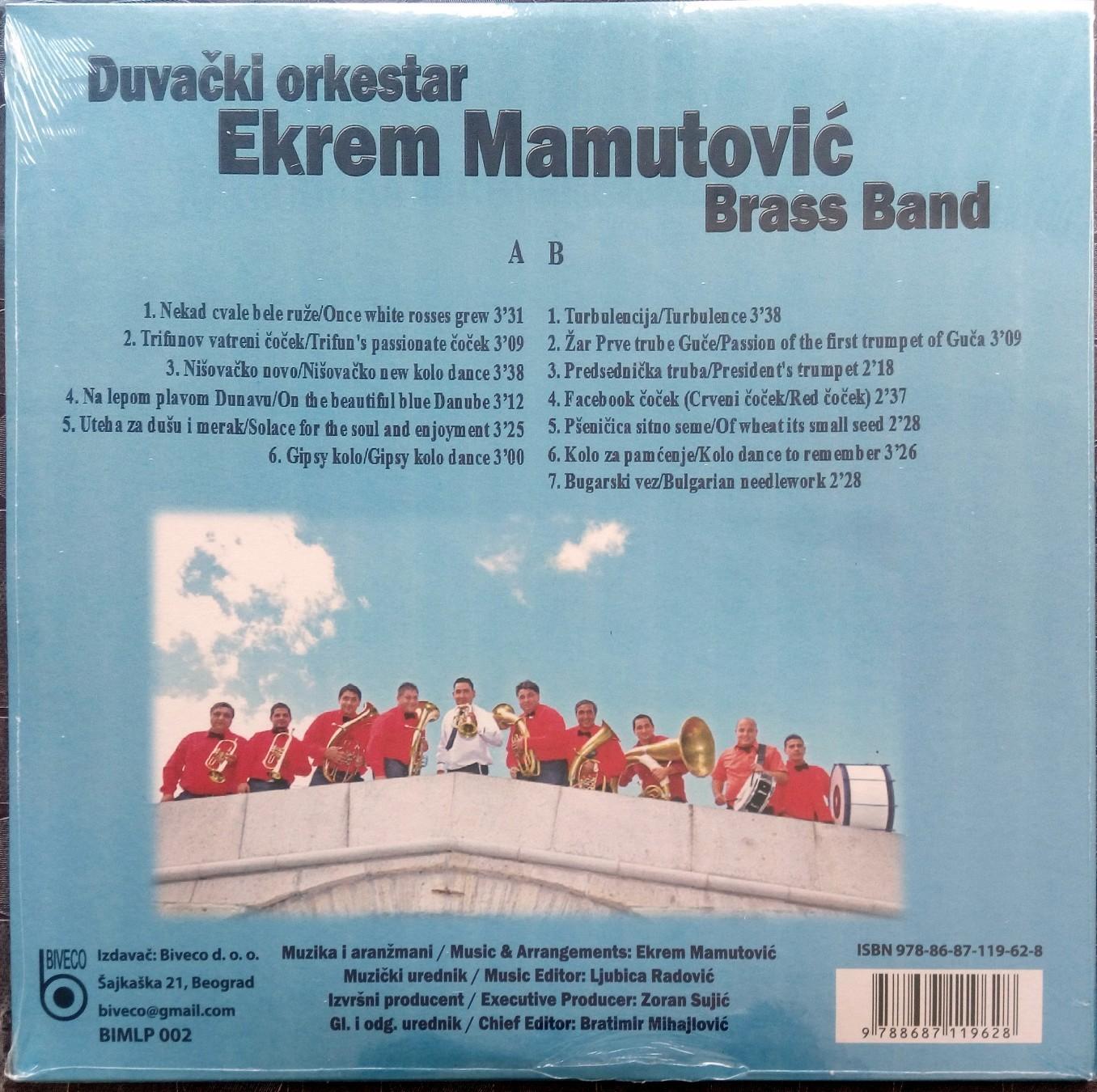 duvački orkestar Ekrema Mamutovića - Brass Band (ŽUTA