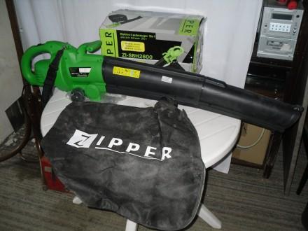 duvaljka-usisivac za lisce ZIPPER 2600w , iz nemacke