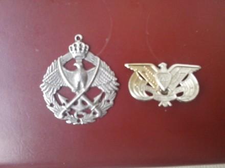 dve oznake Jordanske armije