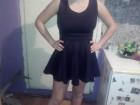 elegantna crna haljinica