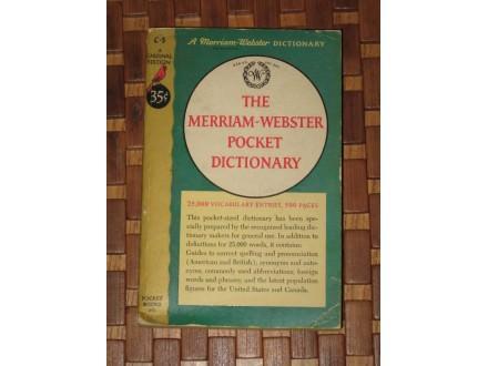 englesko - engleski merriam - webster pocket dictionary