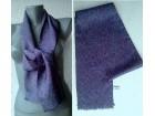 ešarpa šal prirodna svila 138x14,5 cm BEOBANKA
