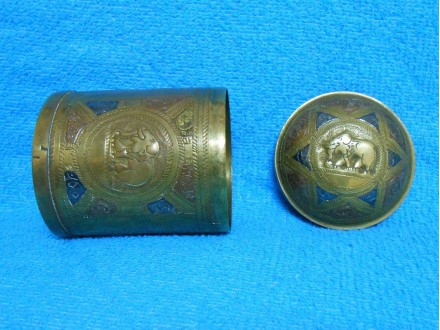 etno ukrasna kutija-ručni rad bakropis 10 x 7,5 cm