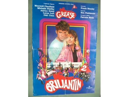 filmski plakat broj 138: BRILJANTIN 2