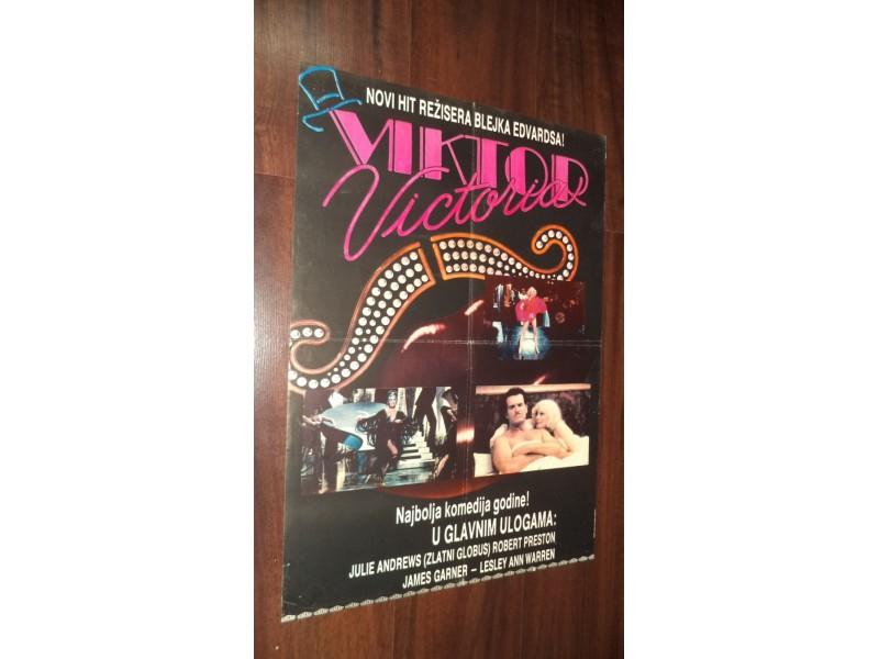 filmski plakat broj 179: VIKTOR VIKTORIA