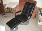 fotelja masazna LIFELIKE s tabureom kao nova,iz nemacke