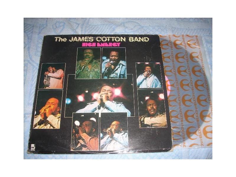 he James Cotton Band – High Energy LP
