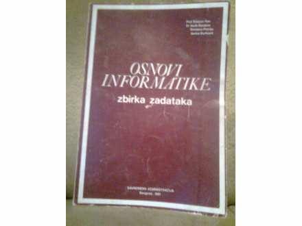 knjiga osnovi informatike-zbirka zadataka