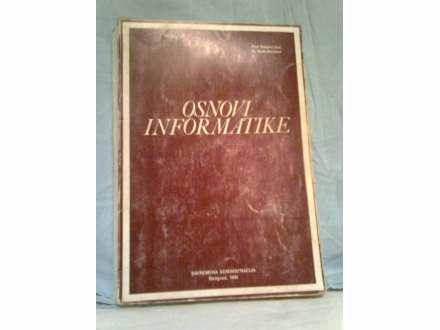 knjiga osnovi informatike