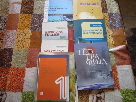 knjige za 1 godinu tehnicke skole