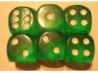 kockice za jamb yamb 18mm americke boja zelena
