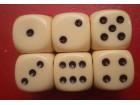 kockice za jamb yamb 18mm italijanske krem boja sjajne