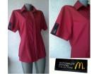 košulja crvena broj 38 ili 40 McDONALDS