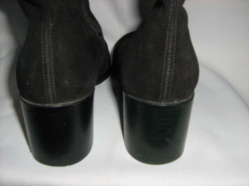 kozne cizme sa vunom -36-kao nove -ara