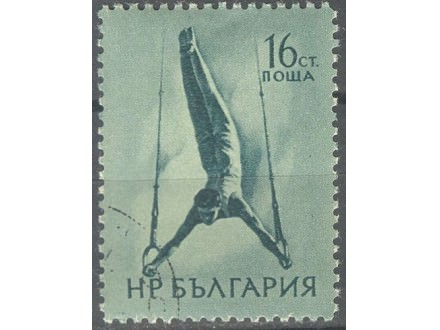 kt412,  21. dec.1954. NRBulgaria Mi928-o- 1/4
